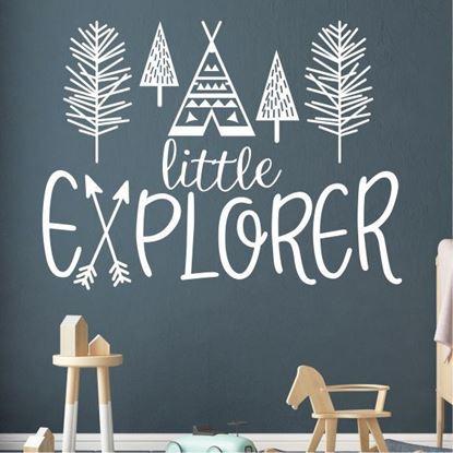 """Picture of """"Little Explorer"""" Wall Art sticker"""