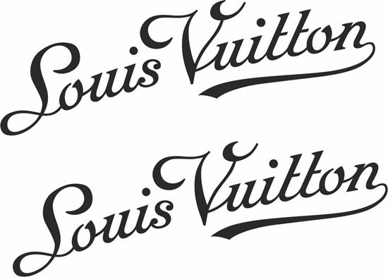 Picture of louis vuitton panel Decals /Stickers