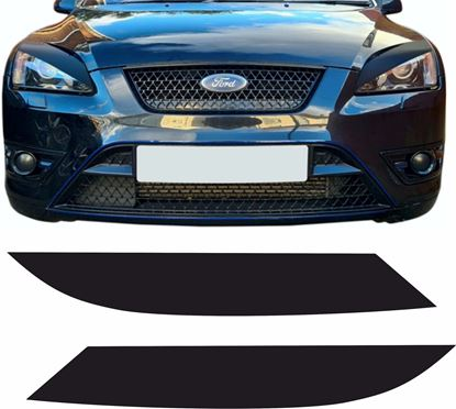 Picture of Ford Focus ST MK2 pre face lift  Headlights pre cut Vinyl overlays