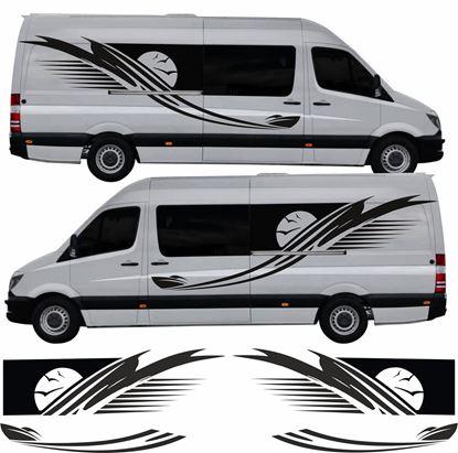 Picture of Mercedes Sprinter Camper long wheel base Graphics kit