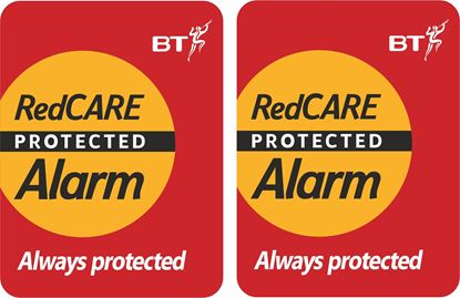 Picture of BT RedCare Alarm Decals / Stickers
