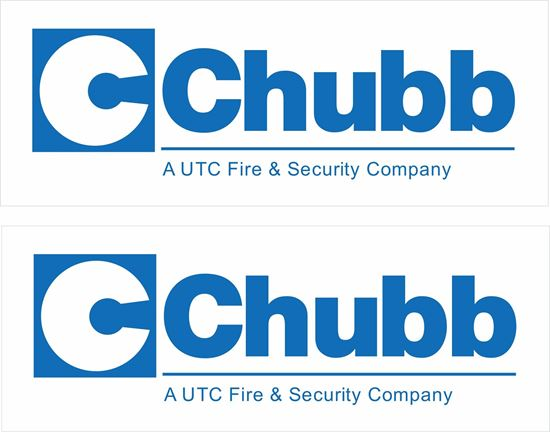 Picture of Chubb Fire and Security Decals / Stickers