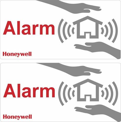 Picture of Honeywell Alarm Decals / Stickers