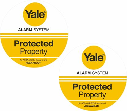 Picture of Yale Protected Decals / Stickers