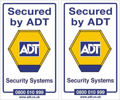 Picture of ADT Security Decals / Stickers