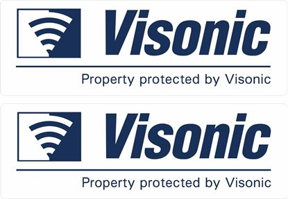 Picture of Visonic Security Decals / Stickers
