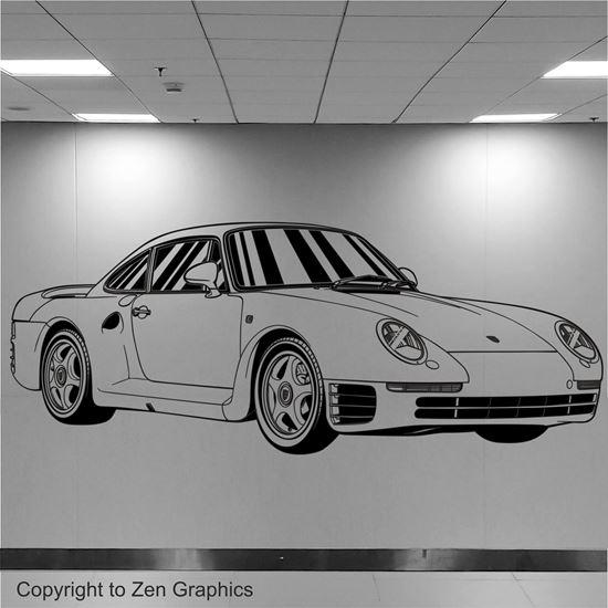 Picture of Porsche 959 Wall Art sticker