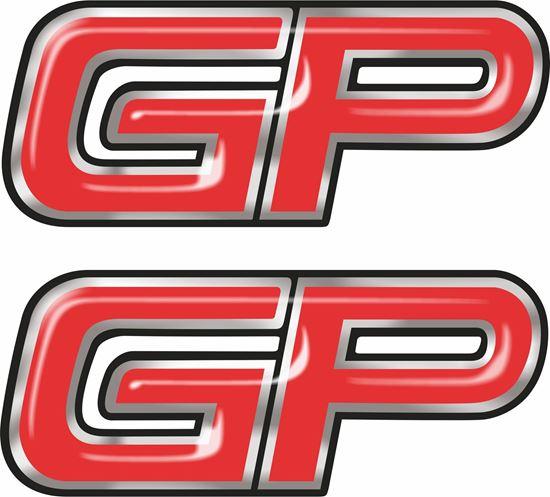 Picture of John Cooper Works GP Gel Badges