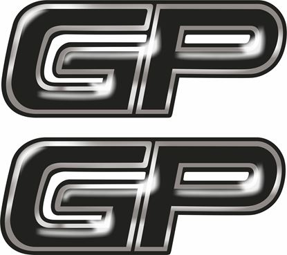 Picture of John Cooper Works GP Gel Badges