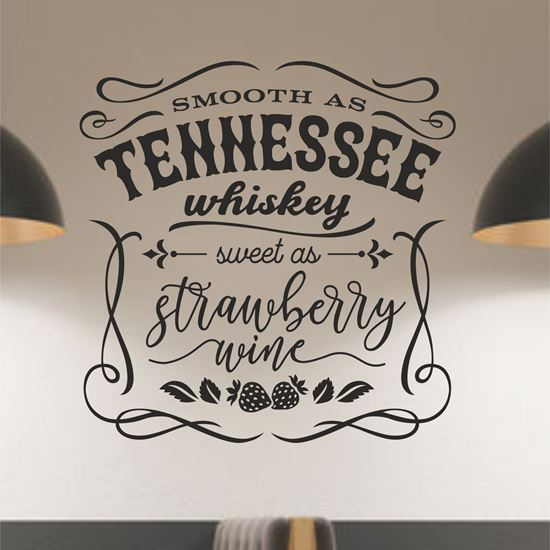 Picture of Tennessee Whisky Wall Art sticker