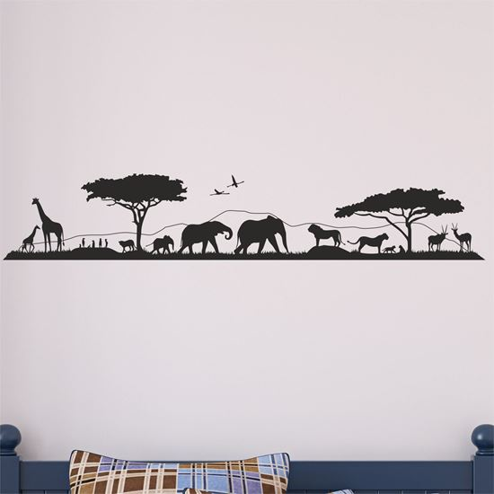 Picture of African Wildlfe Wall Art sticker