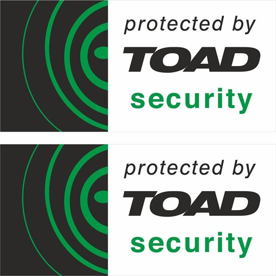 Picture of Toad Security Decals / Stickers