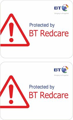 Picture of BT Redcare Decals / Stickers