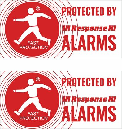 Picture of Response Alarms Decals / Stickers