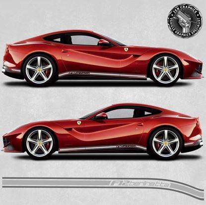 Picture of Ferrari F12 Berlinetta side Stripes