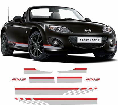 Picture of Mazda Miata MX-5 NC Kuro Special Edition Stripes / Stickers