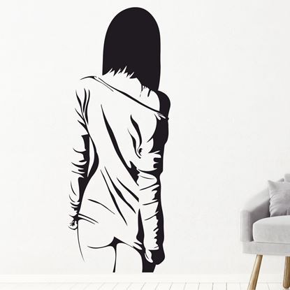 Picture of Girl Wall Art sticker