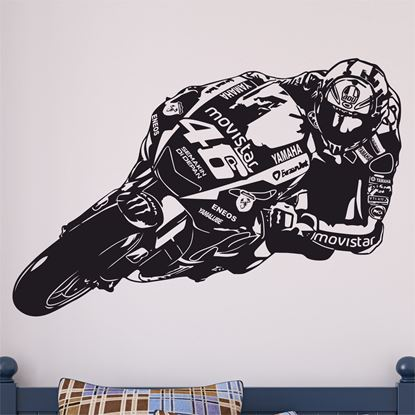 Picture of Valentino Rossi Yamaha MotoGP Wall Art sticker