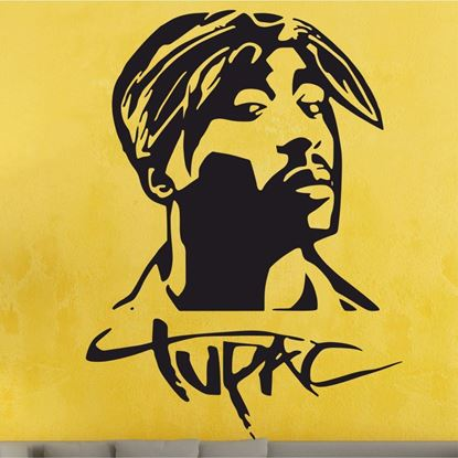 Picture of Tupac  Wall Art sticker