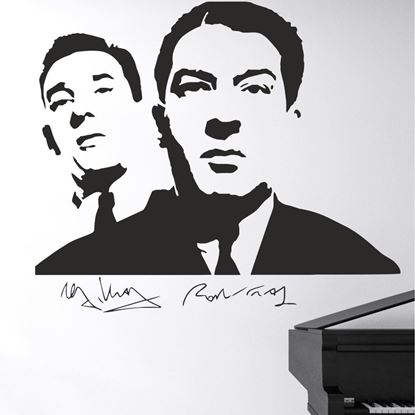 Picture of The Kray Twins Wall Art sticker