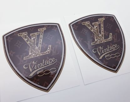 Picture of Louis Vuitton Vintage 500 Badges 80mm