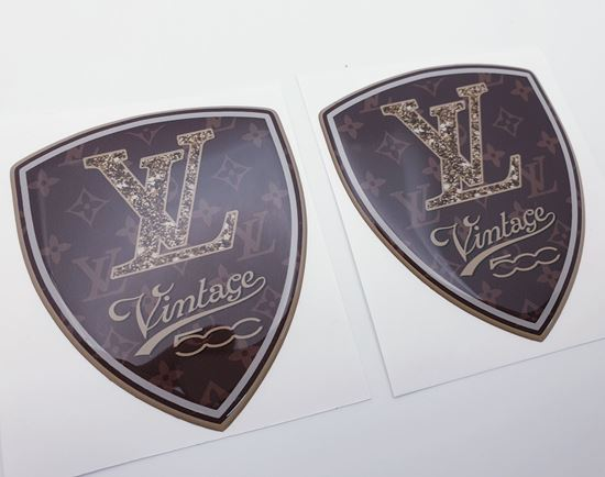 Picture of Louis Vuitton Vintage 500 Badges 80mm