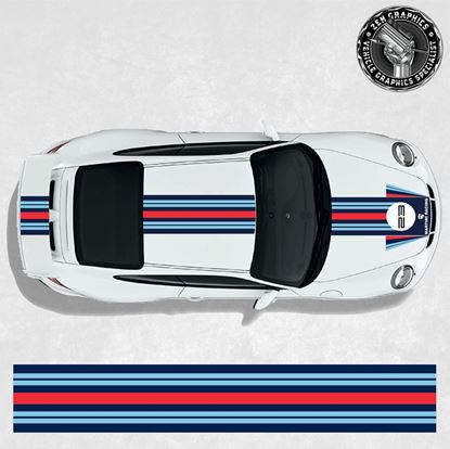 Picture of Martini over the top Stripes (Fits all 911 variants)