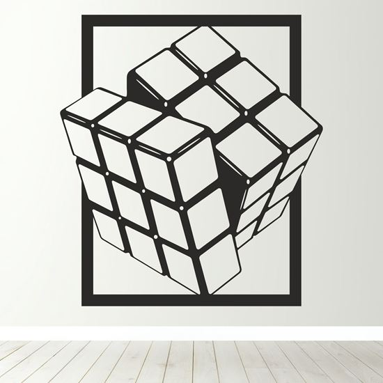 Picture of Rubik's Cube Wall Art sticker