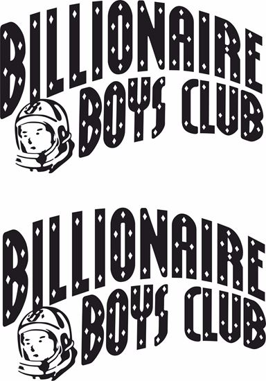 """Picture of """"Billionaire Boys Club"""" Decals / Stickers"""