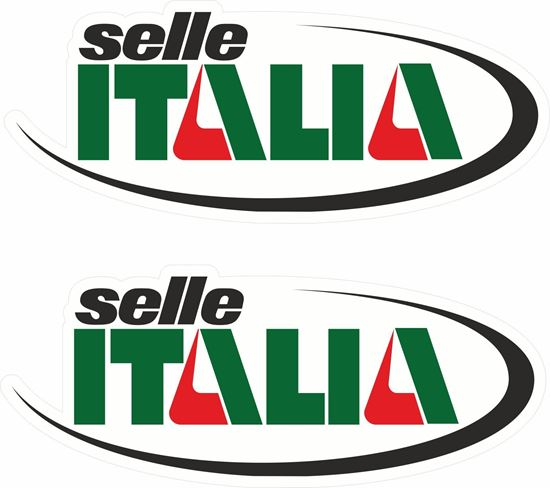 """Picture of """"selle Italia"""" Decals / Stickers"""