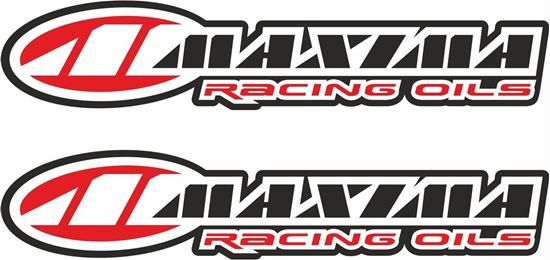 """Picture of """"Maxima Racing Oils"""" Decals / Stickers"""