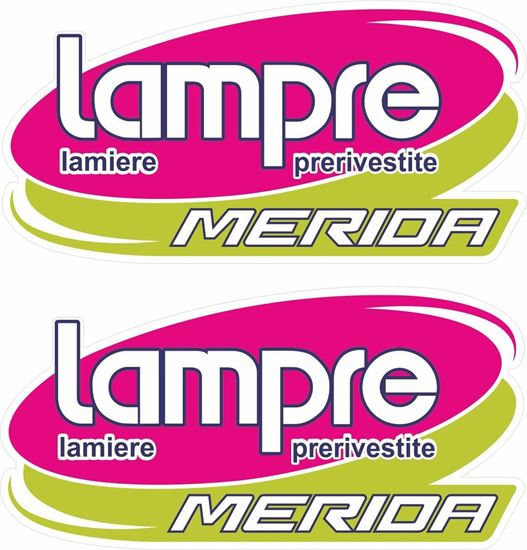 Picture of Lampre Merida Decals / Stickers