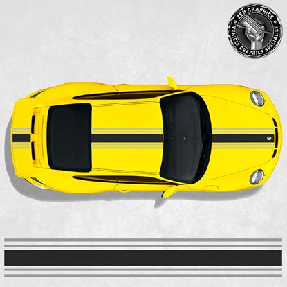 Picture of Over the top Stripes  (Fits all 911 variants)