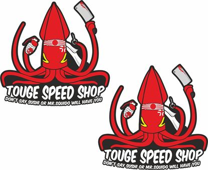 Picture of Tough Speed Shop Decals / Stickers