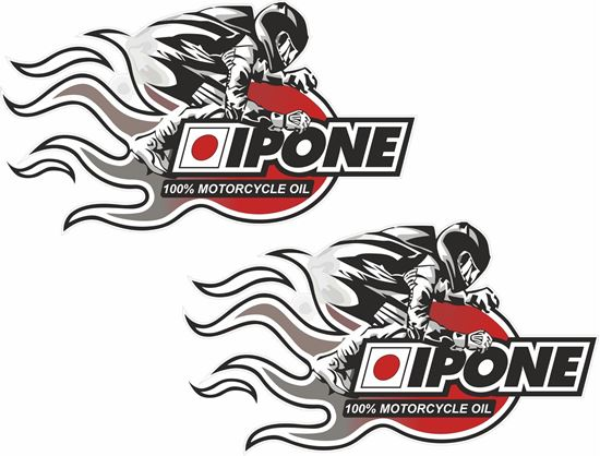Picture of Ipone Oil  Decals / Stickers