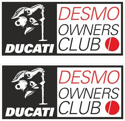 Picture of Ducati Desmo Owners Club Decals / Stickers