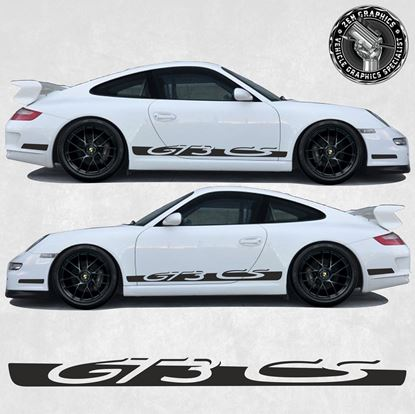 Picture of 991 / 997 GT3 CS side Stripes