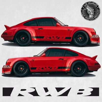 Picture of 911 RWB side Stripes (Fits all 911 variants)