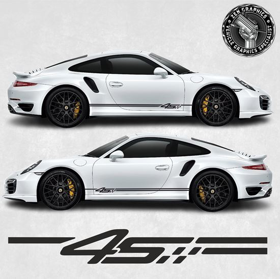 Picture of 992 / 991  4S side Stripes