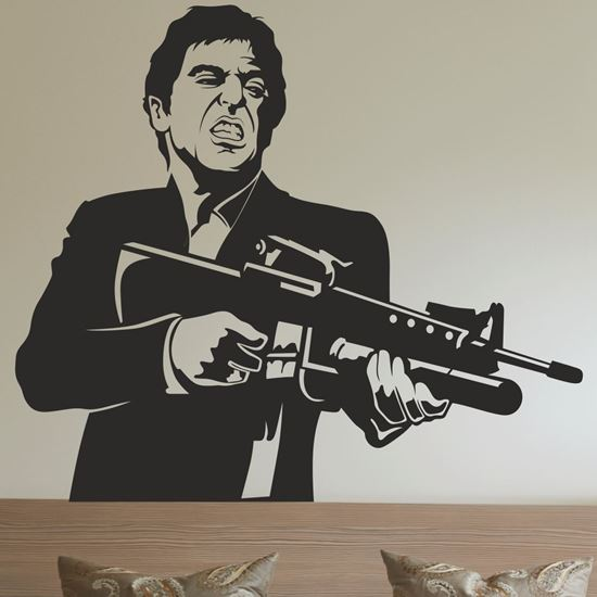 Picture of Scarface Wall Art sticker