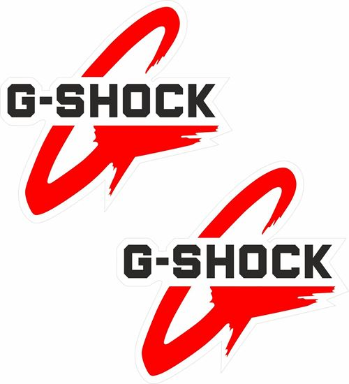 Picture of G-Shock Decals / Stickers