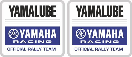 Picture of Yamalube Decals / Stickers