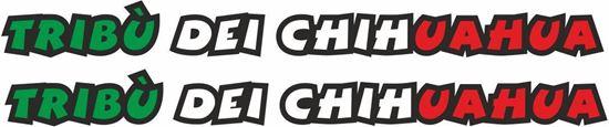"Picture of Valentino Rossi ""Tribu Dei Chihuahua"" Decals / Stickers"