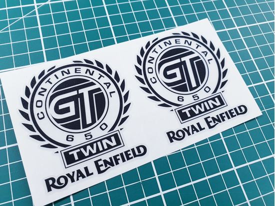 """Picture of Royal Enfield Continental GT 650  3""""Decals / Stickers"""