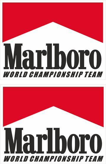 Picture of Marlboro World Championship Team Decals / Stickers