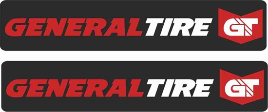 """Picture of """"General Tire"""" Decals / Stickers"""