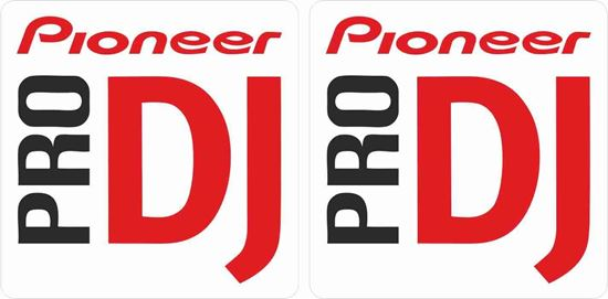 Picture of Pioneer Pro DJ Decals / Stickers