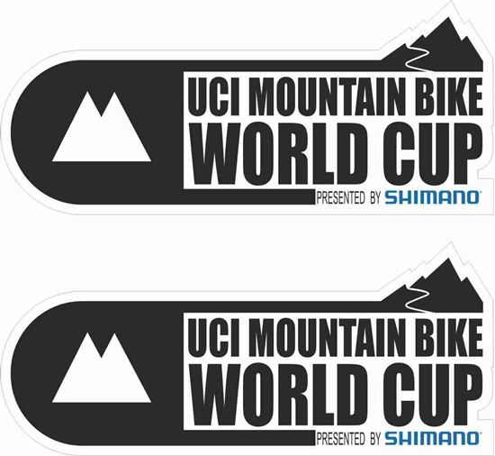 Picture of UCI Mountain Bike World Cup Decals / Stickers