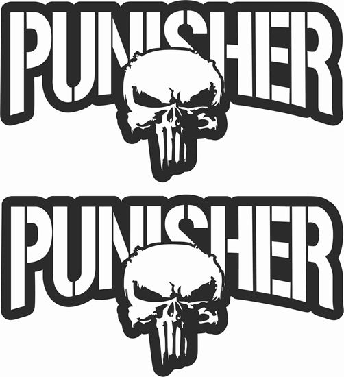 Picture of Punisher Decals / Stickers