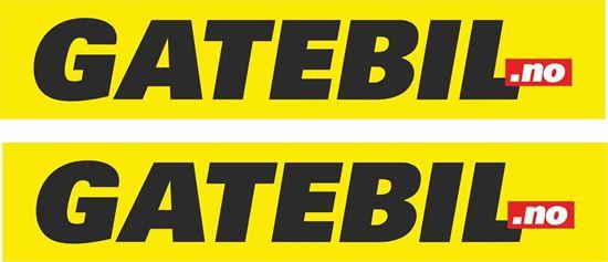 Picture of Gatebil Decals / Stickers